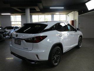 2015 Lexus RX GYL25R RX450h F Sport White 6 Speed Constant Variable Wagon Hybrid