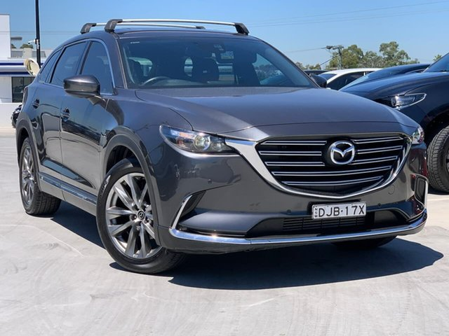 Used Mazda CX-9 TC GT SKYACTIV-Drive Liverpool, 2016 Mazda CX-9 TC GT SKYACTIV-Drive Grey 6 Speed Sports Automatic Wagon