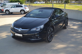 2016 Holden Cascada CJ MY16 Black 6 Speed Sports Automatic Convertible