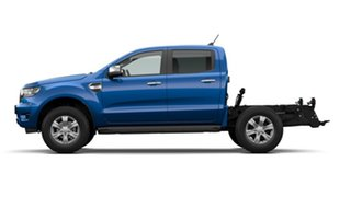 2020 Ford Ranger PX MkIII 2021.25MY XLT Double Cab Blue Lightning 6 Speed Sports Automatic.
