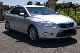 2010 Ford Mondeo MB LX TDCi Silver 6 Speed Direct Shift Hatchback.