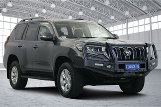 2018 Toyota Landcruiser Prado GDJ150R GXL Grey 6 Speed Sports Automatic Wagon.