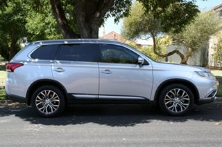2015 Mitsubishi Outlander ZK MY16 XLS 4WD Silver 6 Speed Sports Automatic Wagon