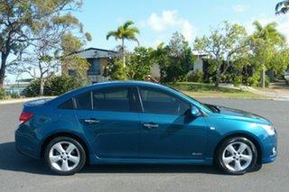 2013 Holden Cruze JH Series II MY13 SRi-V Blue 6 Speed Manual Sedan.
