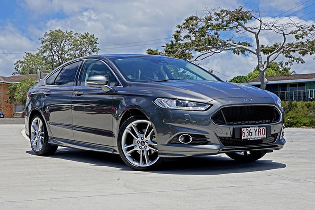 Used Ford Mondeo MD 2018.25MY Titanium Capalaba, 2018 Ford Mondeo MD 2018.25MY Titanium Grey 6 Speed Sports Automatic Hatchback