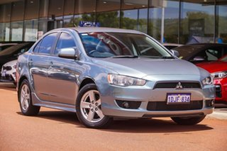 2008 Mitsubishi Lancer CJ MY08 VR Blue 6 Speed Constant Variable Sedan.