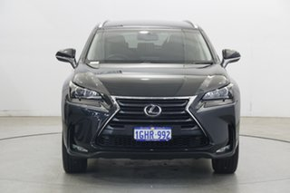 2017 Lexus NX AGZ10R NX200t 2WD Luxury Black 6 Speed Sports Automatic Wagon.