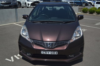 2013 Honda Jazz Vibe-S Brown 5 Speed Automatic Hatchback