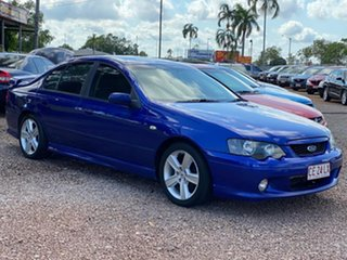 2003 Ford Falcon BA XR6 Blue 4 Speed Sports Automatic Sedan.