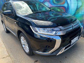 2020 Mitsubishi Outlander ZL MY21 ES AWD Black 6 Speed Constant Variable Wagon