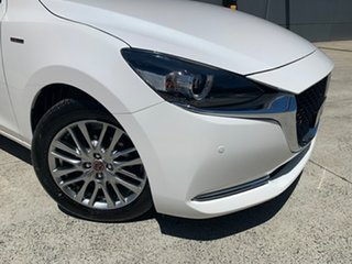 2020 Mazda 2 DJ2HAA 100th Anniversary SKYACTIV-Drive Snowflake White 6 Speed Sports Automatic.
