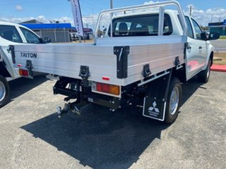 2020 Mitsubishi Triton MR MY21 GLX Double Cab ADAS White 6 Speed Sports Automatic Cab Chassis