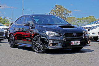 2014 Subaru WRX V1 MY15 Lineartronic AWD Black 8 Speed Constant Variable Sedan.