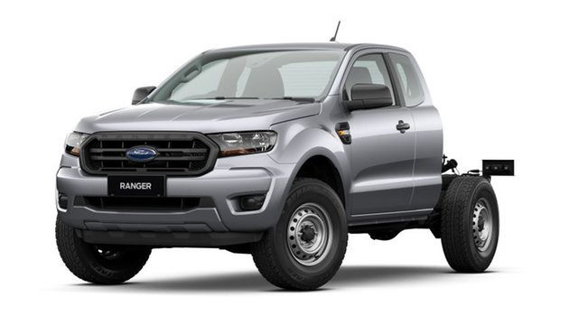 New Ford Ranger PX MkIII 2021.25MY XL Deer Park, 2021 Ford Ranger PX MkIII 2021.25MY XL Aluminium Silver 6 Speed Sports Automatic Super Cab Chassis