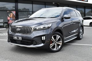 2018 Kia Sorento UM MY18 GT-Line AWD Grey 8 Speed Sports Automatic Wagon.