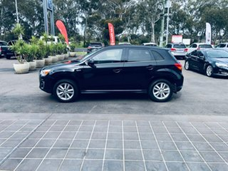 2014 Mitsubishi ASX XB MY14 Aspire Black 6 Speed Sports Automatic Wagon