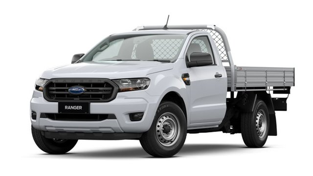 New Ford Ranger PX MkIII 2021.25MY XL Hobart, 2021 Ford Ranger PX MkIII 2021.25MY XL Arctic White 6 Speed Manual Single Cab Chassis