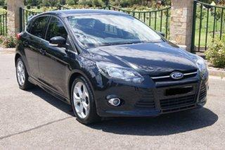 2013 Ford Focus LW MK2 Sport Black 6 Speed Automatic Hatchback.