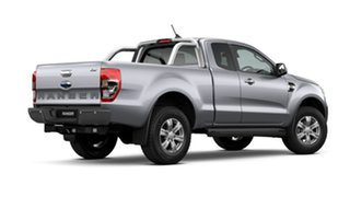 2021 Ford Ranger PX MkIII 2021.25MY XLT Aluminium Silver 6 Speed Sports Automatic Super Cab Pick Up