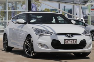 2017 Hyundai Veloster FS5 Series II Coupe D-CT White 6 Speed Sports Automatic Dual Clutch Hatchback.