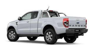 2020 Ford Ranger PX MkIII 2021.25MY XLT Arctic White 6 Speed Sports Automatic Super Cab Pick Up
