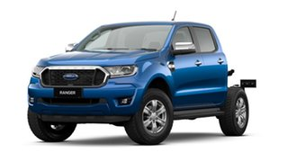 2020 Ford Ranger PX MkIII 2021.25MY XLT Double Cab Blue Lightning 6 Speed Sports Automatic