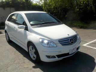 2008 Mercedes-Benz B180 245 07 Upgrade CDI White Continuous Variable Hatchback.
