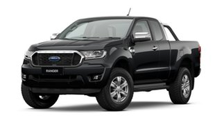 2021 Ford Ranger PX MkIII 2021.25MY XLT Shadow Black 6 Speed Sports Automatic Super Cab Pick Up.