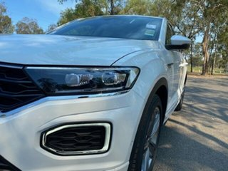 2020 Volkswagen T-ROC A1 MY20 140TSI DSG 4MOTION Sport Pure White 7 Speed.
