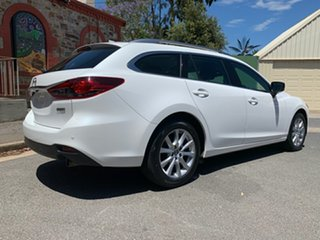 2016 Mazda 6 GJ1032 Sport SKYACTIV-Drive White 6 Speed Sports Automatic Wagon.