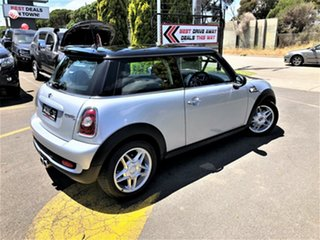 2007 Mini Hatch R56 Cooper S Silver 6 Speed Sports Automatic Hatchback.