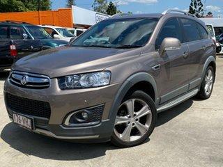 2014 Holden Captiva CG MY14 7 AWD LTZ Brown 6 Speed Sports Automatic Wagon.