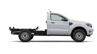 2020 Ford Ranger PX MkIII 2021.25MY XL White 6 Speed Sports Automatic Single Cab Chassis