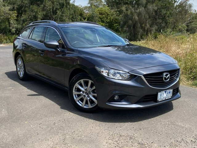 Used Mazda 6 Sport Geelong, 2016 Mazda 6 GJ Series 2 Sport Grey Sports Automatic Wagon
