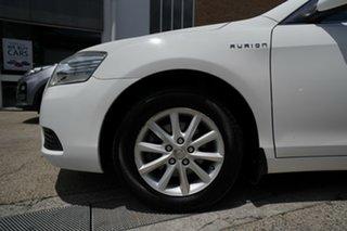 2010 Toyota Aurion GSV40R MY10 AT-X White 6 Speed Sports Automatic Sedan.