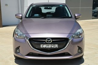 2014 Mazda 2 DJ2HAA Genki SKYACTIV-Drive Purple 6 Speed Sports Automatic Hatchback
