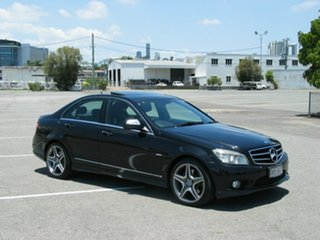 2007 Mercedes-Benz C280 W204 Avantgarde Black 7 Speed Automatic G-Tronic Sedan.