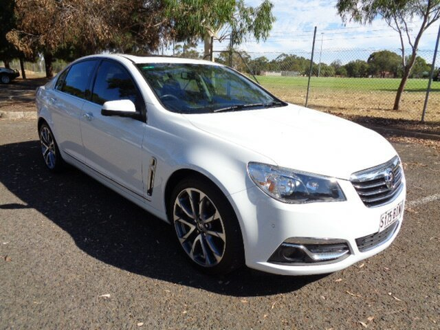 Used Holden Calais VF II MY16 V Elizabeth, 2015 Holden Calais VF II MY16 V White 6 Speed Sports Automatic Sedan