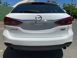 2016 Mazda 6 GJ1032 Sport SKYACTIV-Drive White 6 Speed Sports Automatic Wagon