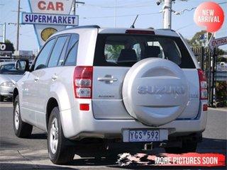2008 Suzuki Grand Vitara JB MY09 Silver 4 Speed Automatic Wagon.