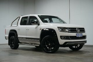 2015 Volkswagen Amarok 2H MY15 TDI420 4Motion Perm Ultimate Candy White 8 Speed Automatic Utility.
