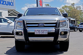 2012 Ford Ranger PX XL Highlight Silver 6 Speed Sports Automatic Utility.