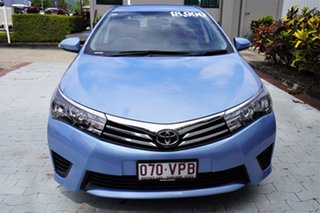 2015 Toyota Corolla ZRE172R Ascent S-CVT Blue 7 Speed Constant Variable Sedan.