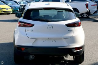 2020 Mazda CX-3 DK4W7A Akari SKYACTIV-Drive i-ACTIV AWD White 6 Speed Sports Automatic Wagon.