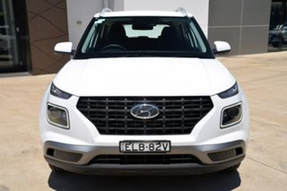 2019 Hyundai Venue QX MY20 Active White 6 Speed Automatic Wagon