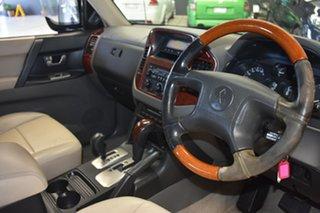 2003 Mitsubishi Pajero NP Exceed LWB (4x4) Beige 5 Speed Auto Sports Mode Wagon.