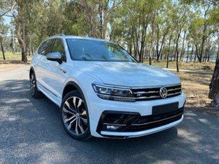 2020 Volkswagen Tiguan 5N MY20 140TDI Highline DSG 4MOTION Allspace Pure White 7 Speed.