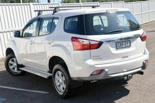 2013 Isuzu MU-X MY14 LS-M Rev-Tronic White 5 Speed Sports Automatic Wagon.