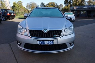 2012 Skoda Octavia 1Z MY13 RS DSG 125TDI Brilliant Silver 6 Speed Sports Automatic Dual Clutch Wagon