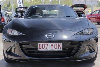 2018 Mazda MX-5 ND GT SKYACTIV-Drive Jet Black 6 Speed Sports Automatic Roadster.